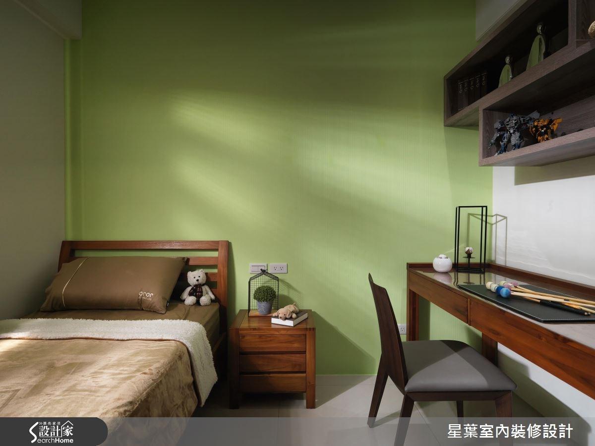 30坪新成屋(5年以下)_現代風臥室案例圖片_星葉室內裝修設計_星葉_19之15