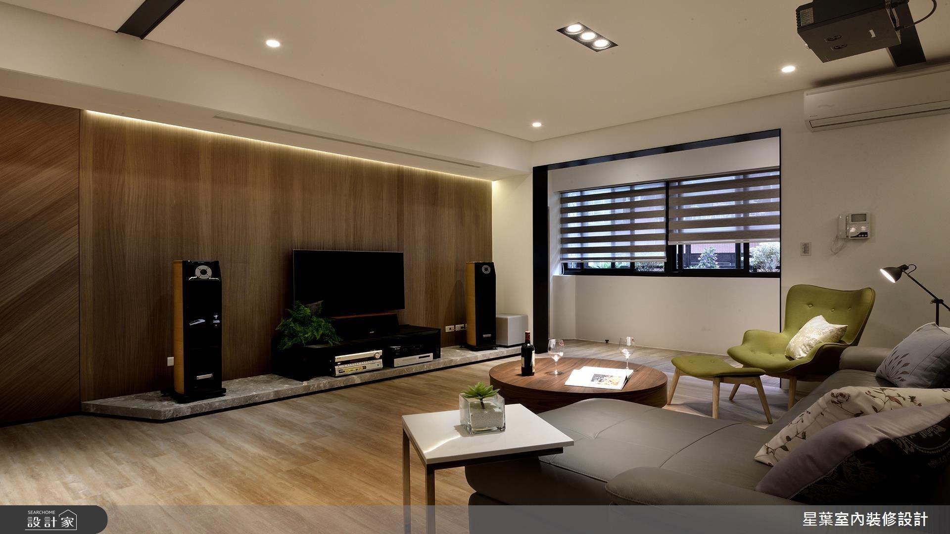 34坪老屋(16~30年)_休閒風客廳案例圖片_星葉室內裝修設計_星葉_21之4