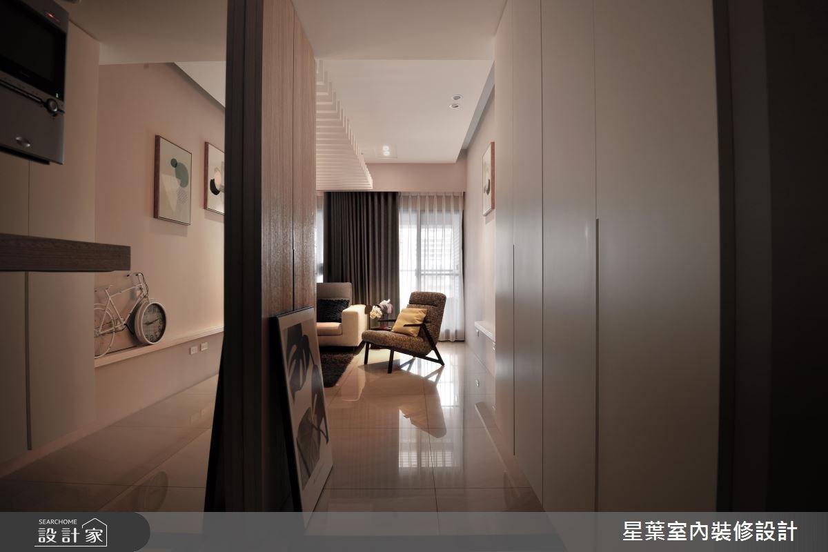 27坪新成屋(5年以下)_現代風玄關案例圖片_星葉室內裝修設計_星葉_23之5