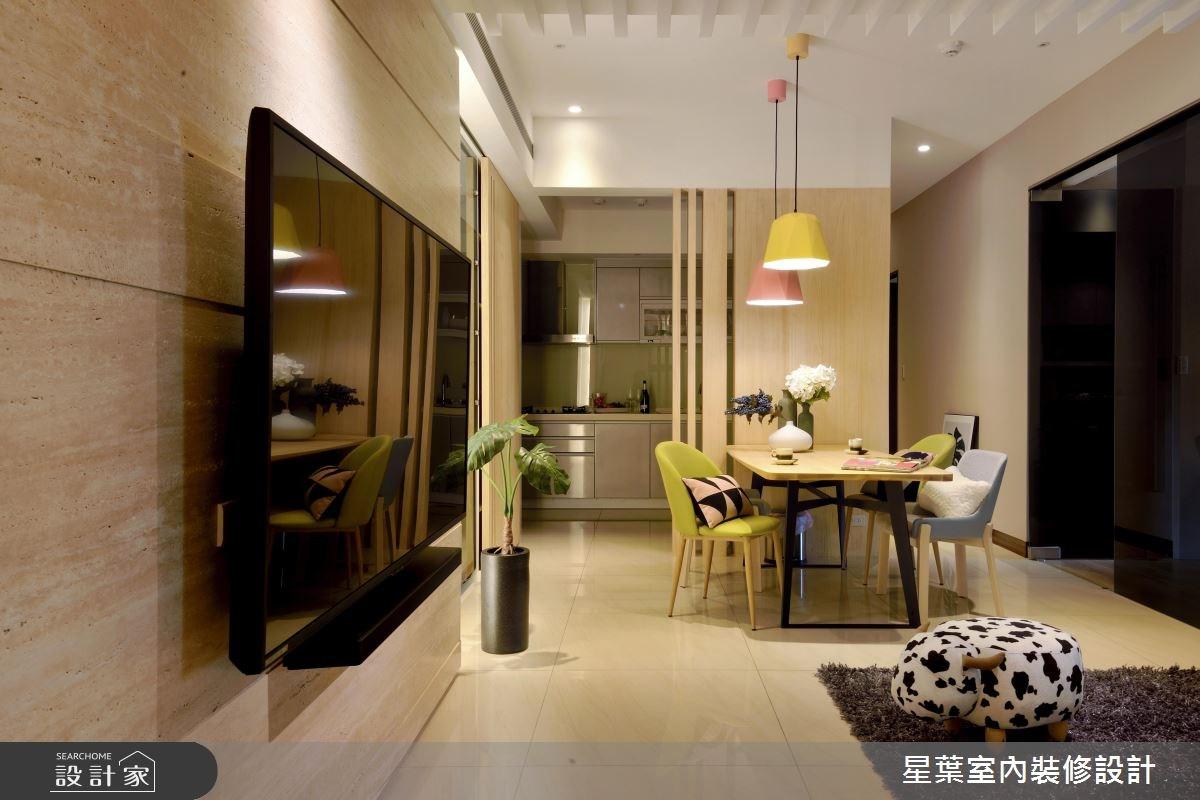 27坪新成屋(5年以下)_現代風餐廳案例圖片_星葉室內裝修設計_星葉_23之6