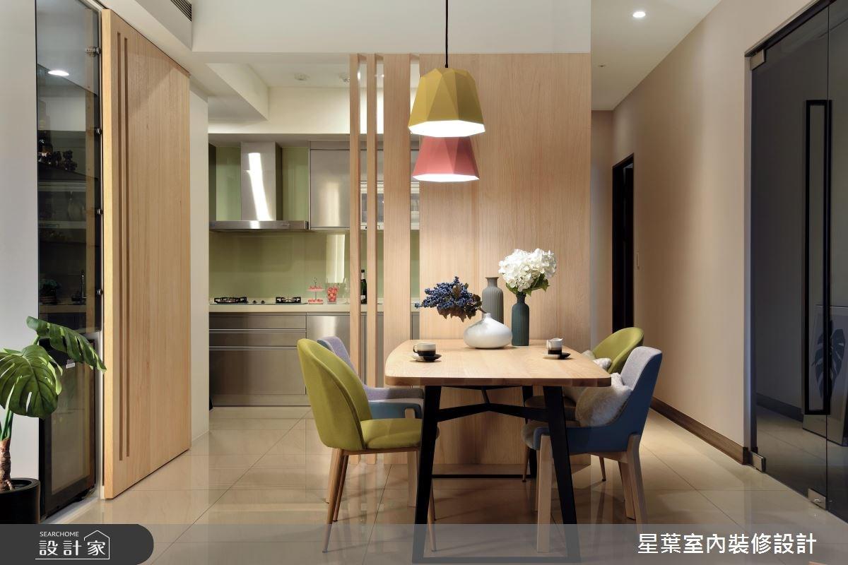 27坪新成屋(5年以下)_現代風餐廳案例圖片_星葉室內裝修設計_星葉_23之8