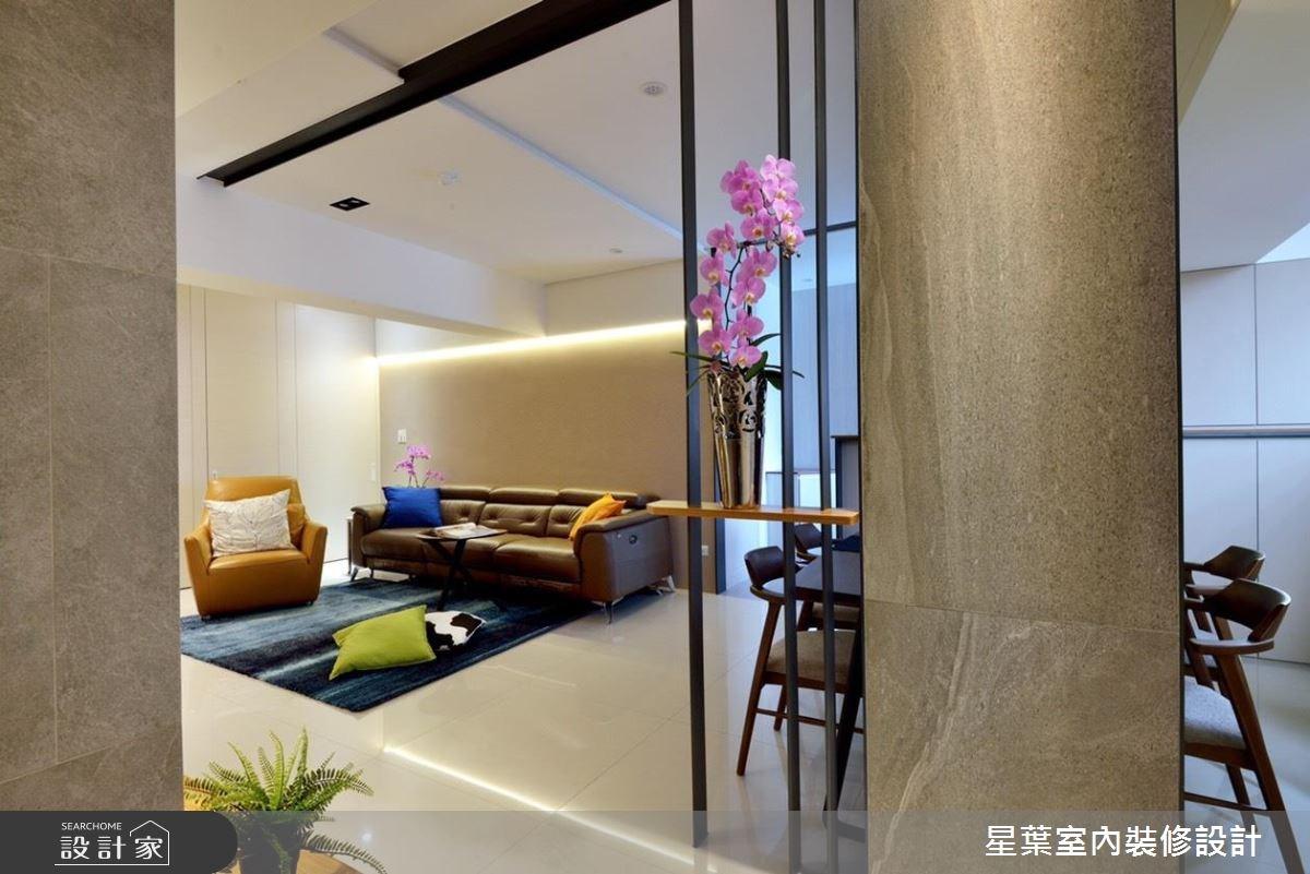 29坪老屋(16~30年)_現代風玄關客廳案例圖片_星葉室內裝修設計_星葉_26之4