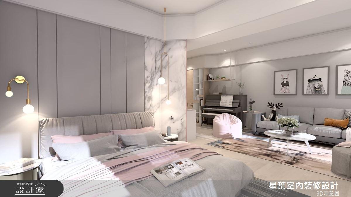 30坪預售屋_北歐風臥室案例圖片_星葉室內裝修設計_星葉_31之6
