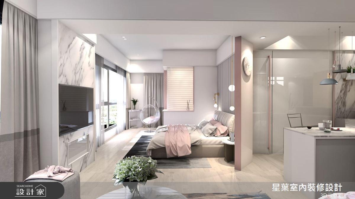 30坪預售屋_北歐風臥室案例圖片_星葉室內裝修設計_星葉_31之5