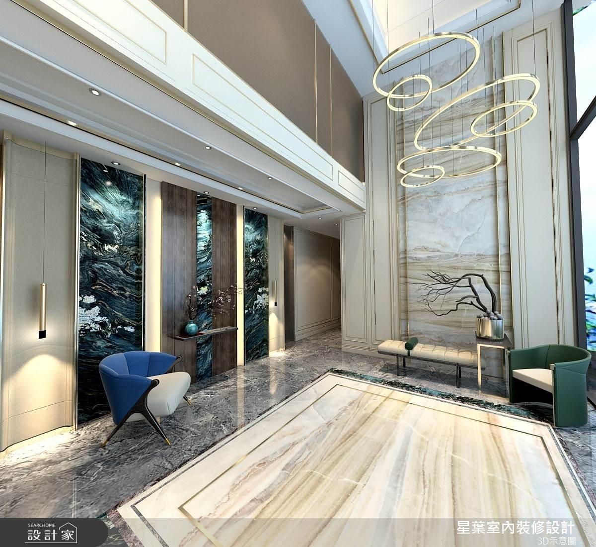 63坪新成屋(5年以下)_奢華風案例圖片_星葉室內裝修設計_星葉_40之1