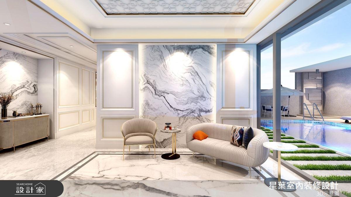 175坪新成屋(5年以下)_新古典玄關案例圖片_星葉室內裝修設計_星葉_42之2