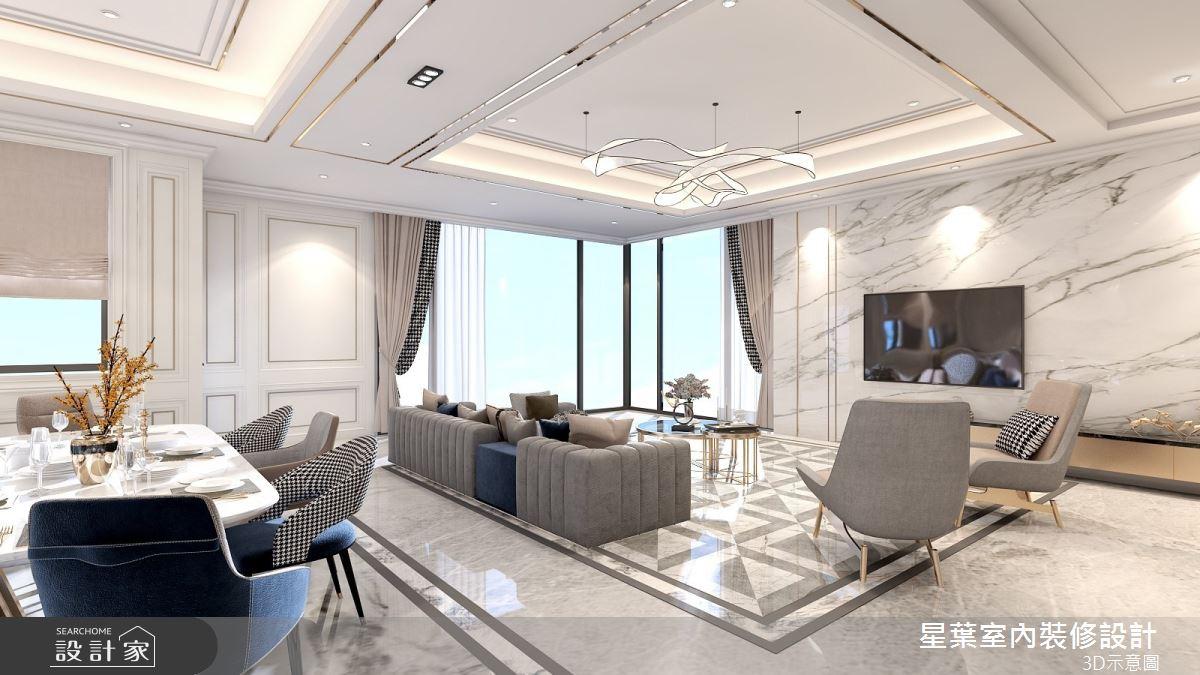 175坪新成屋(5年以下)_新古典餐廳案例圖片_星葉室內裝修設計_星葉_42之8