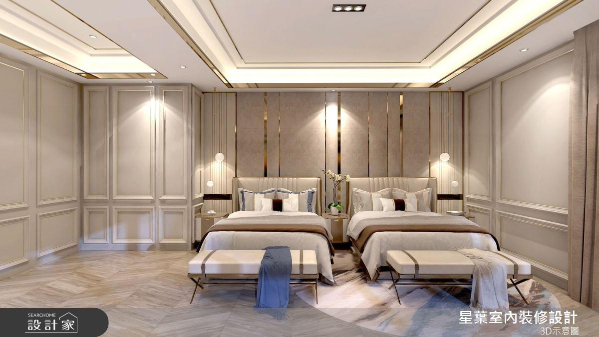 175坪新成屋(5年以下)_新古典臥室案例圖片_星葉室內裝修設計_星葉_42之10