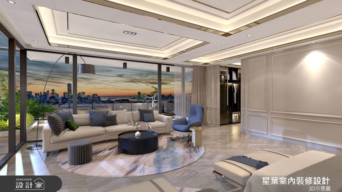 175坪新成屋(5年以下)_新古典臥室案例圖片_星葉室內裝修設計_星葉_42之11
