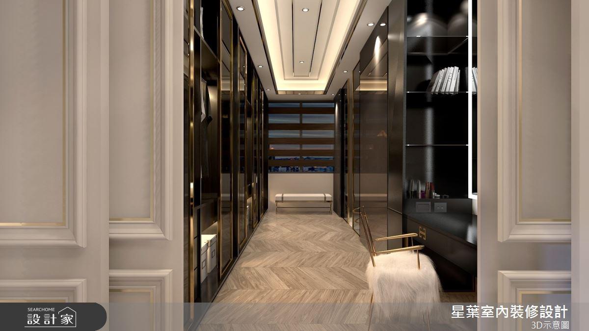 175坪新成屋(5年以下)_新古典走廊案例圖片_星葉室內裝修設計_星葉_42之12