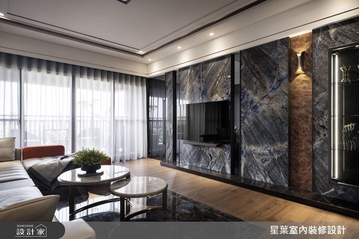 45坪新成屋(5年以下)_奢華風案例圖片_星葉室內裝修設計_星葉_43之5