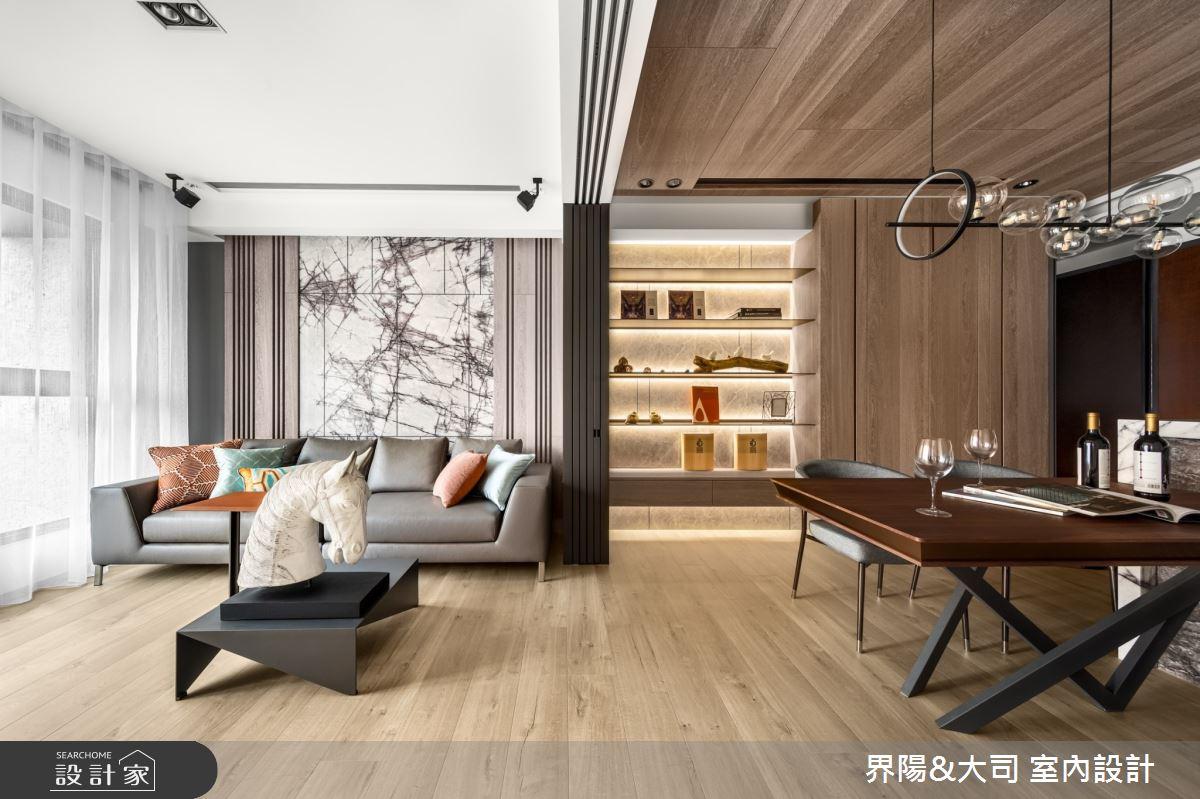 16坪新成屋(5年以下)_現代風客廳案例圖片_界陽&大司 室內設計_界陽_26之5