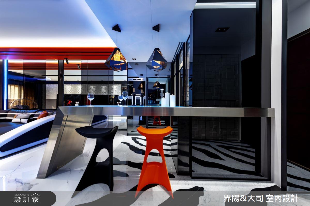 32坪新成屋(5年以下)_現代風客廳吧檯案例圖片_界陽&大司 室內設計_界陽_27之3