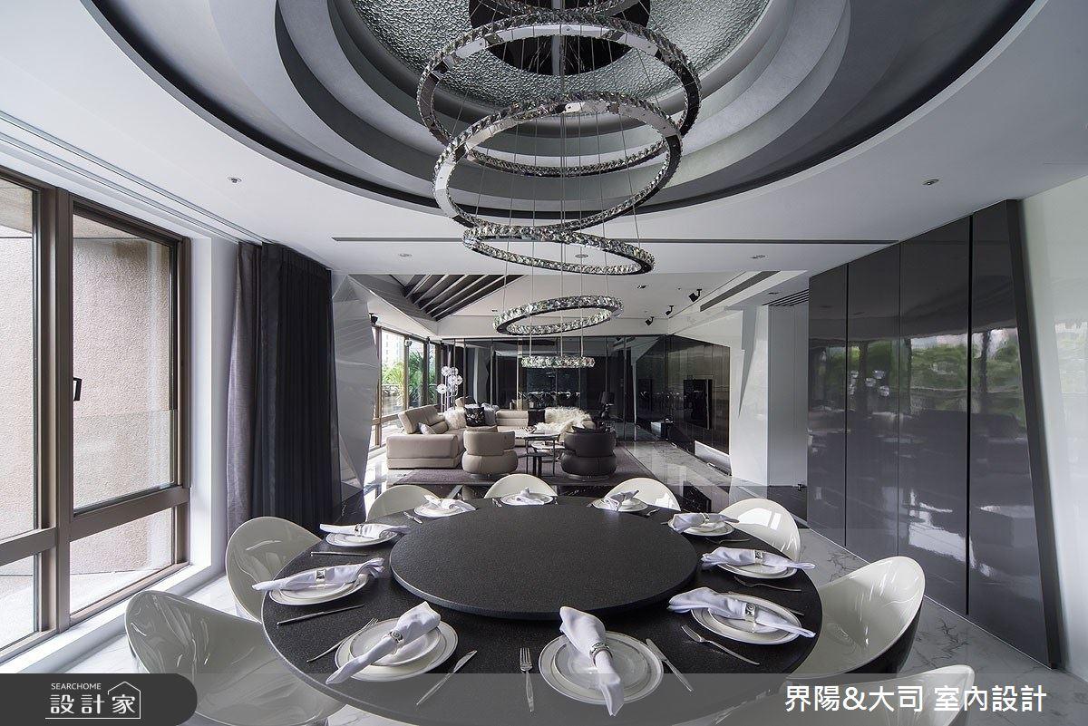 82坪新成屋(5年以下)_現代風餐廳案例圖片_界陽&大司 室內設計_界陽_28之4