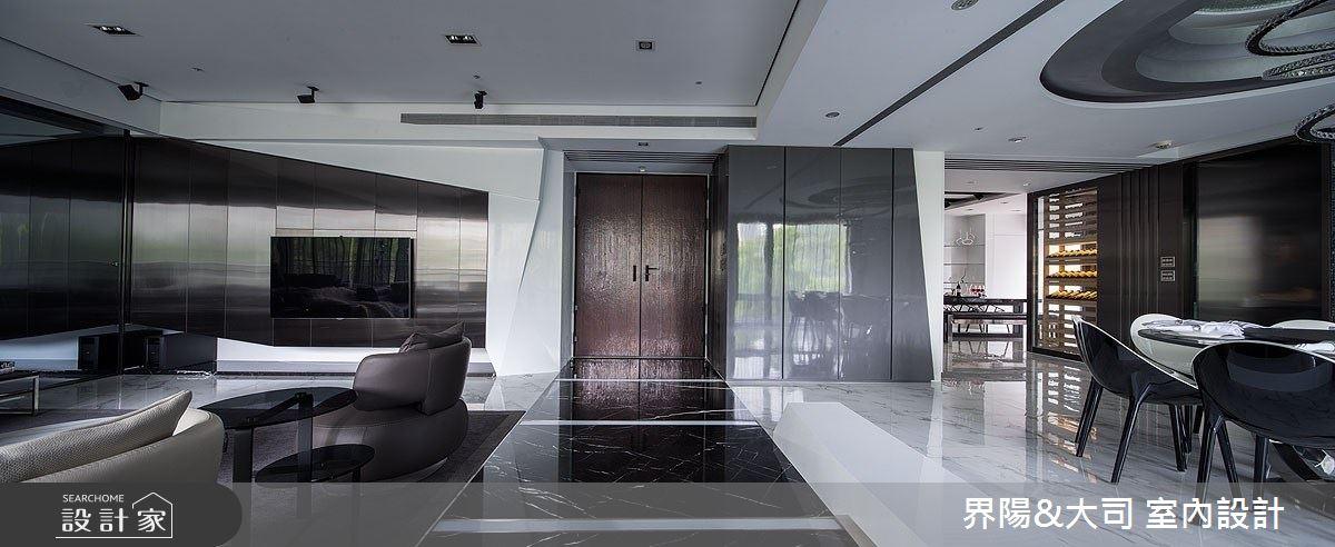 82坪新成屋(5年以下)_現代風客廳案例圖片_界陽&大司 室內設計_界陽_28之2