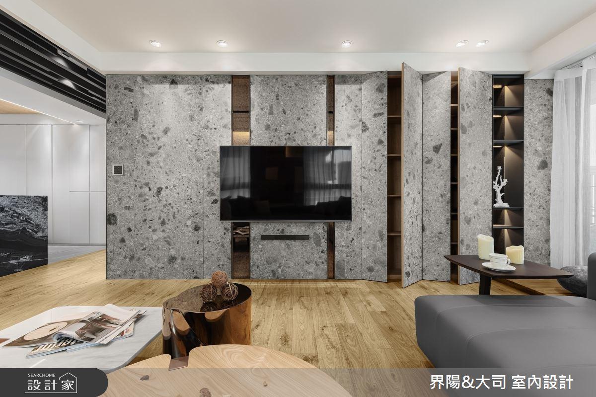 39坪新成屋(5年以下)_現代風客廳案例圖片_界陽&大司 室內設計_界陽_31之3