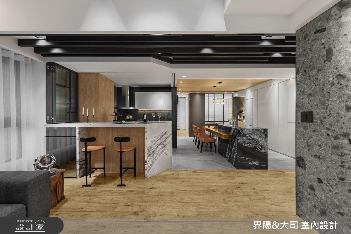 39坪新成屋(5年以下)_現代風餐廳案例圖片_界陽&大司 室內設計_界陽_31之5