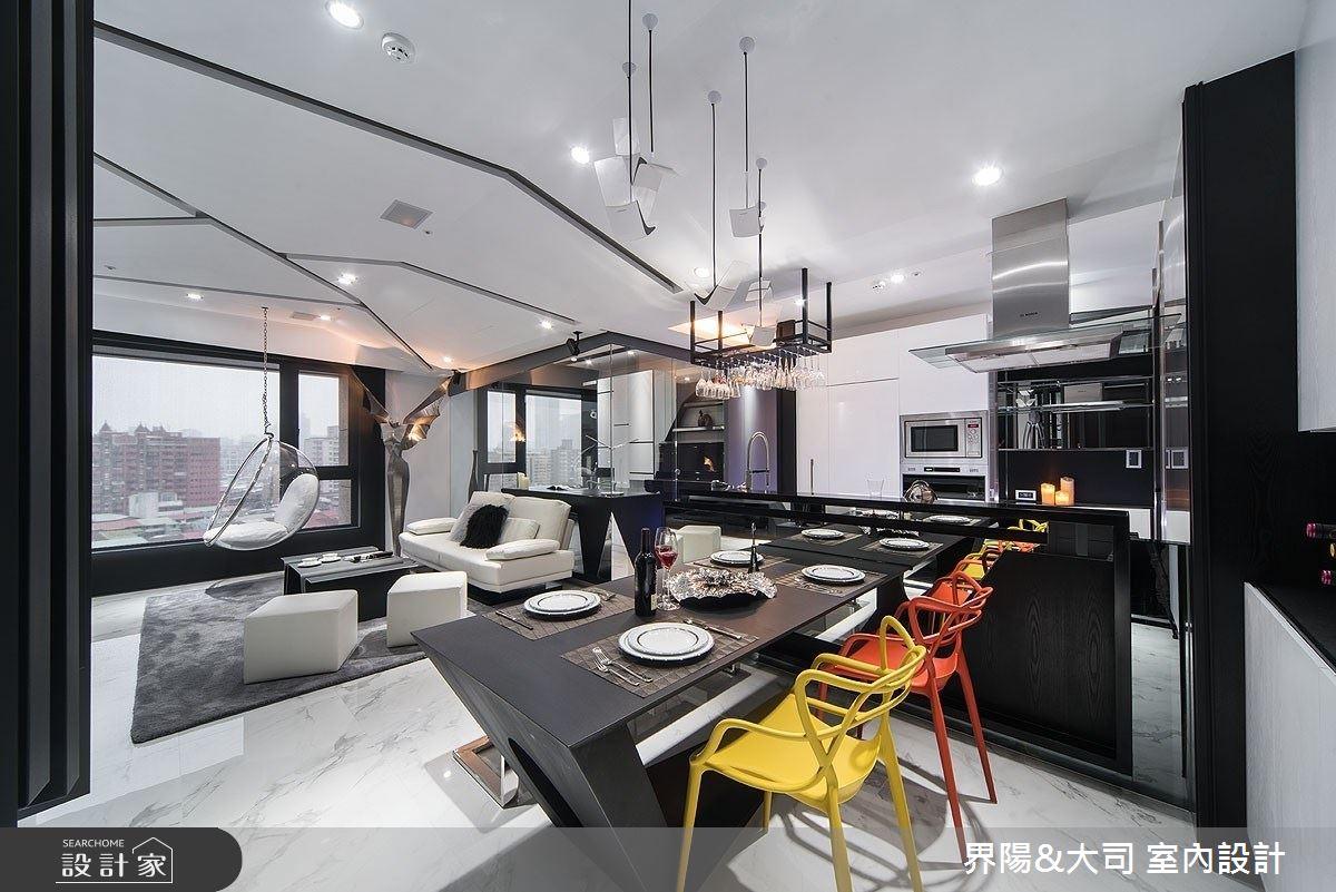 27坪新成屋(5年以下)_現代風餐廳案例圖片_界陽&大司 室內設計_界陽_32之4