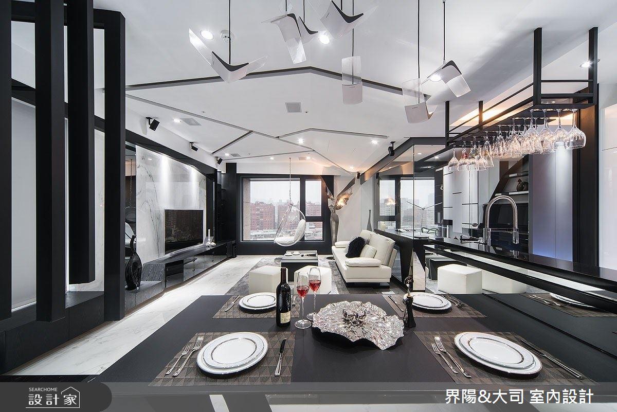 27坪新成屋(5年以下)_現代風餐廳案例圖片_界陽&大司 室內設計_界陽_32之5