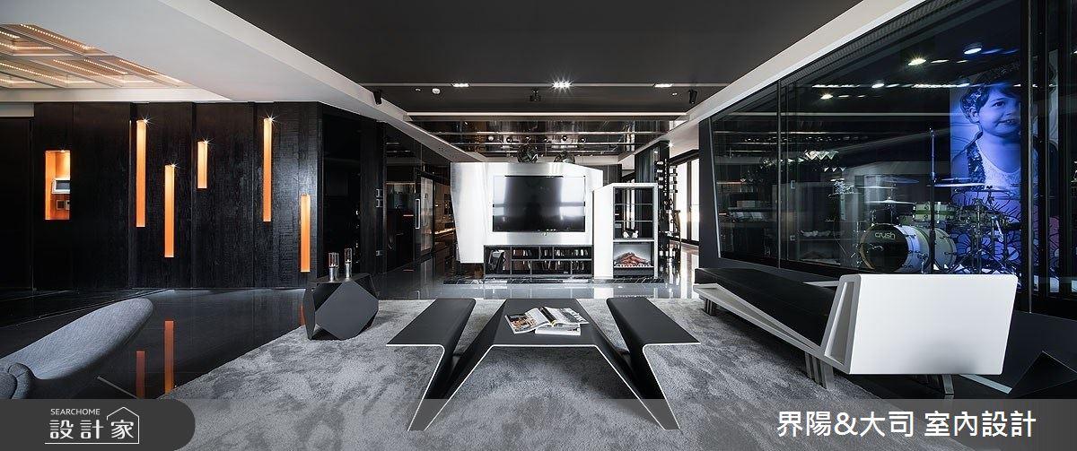 77坪新成屋(5年以下)_現代風客廳案例圖片_界陽&大司 室內設計_界陽_33之3