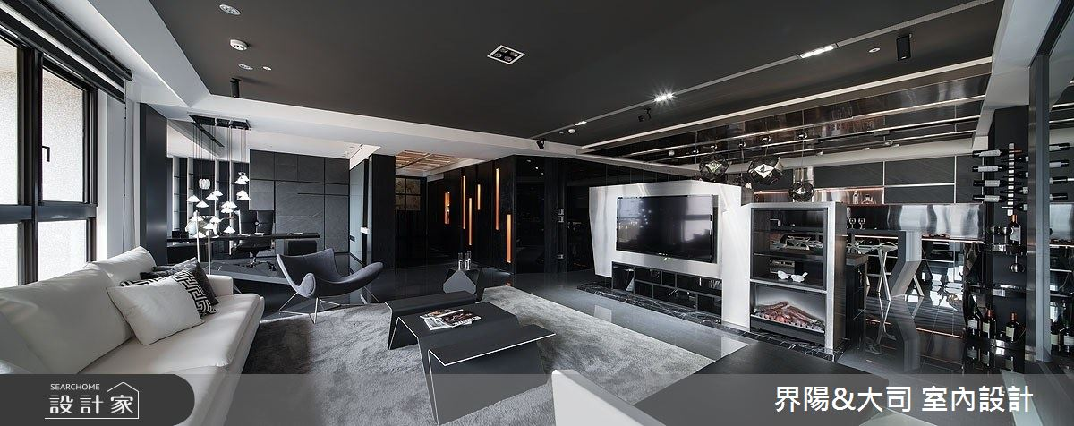 77坪新成屋(5年以下)_現代風客廳案例圖片_界陽&大司 室內設計_界陽_33之2