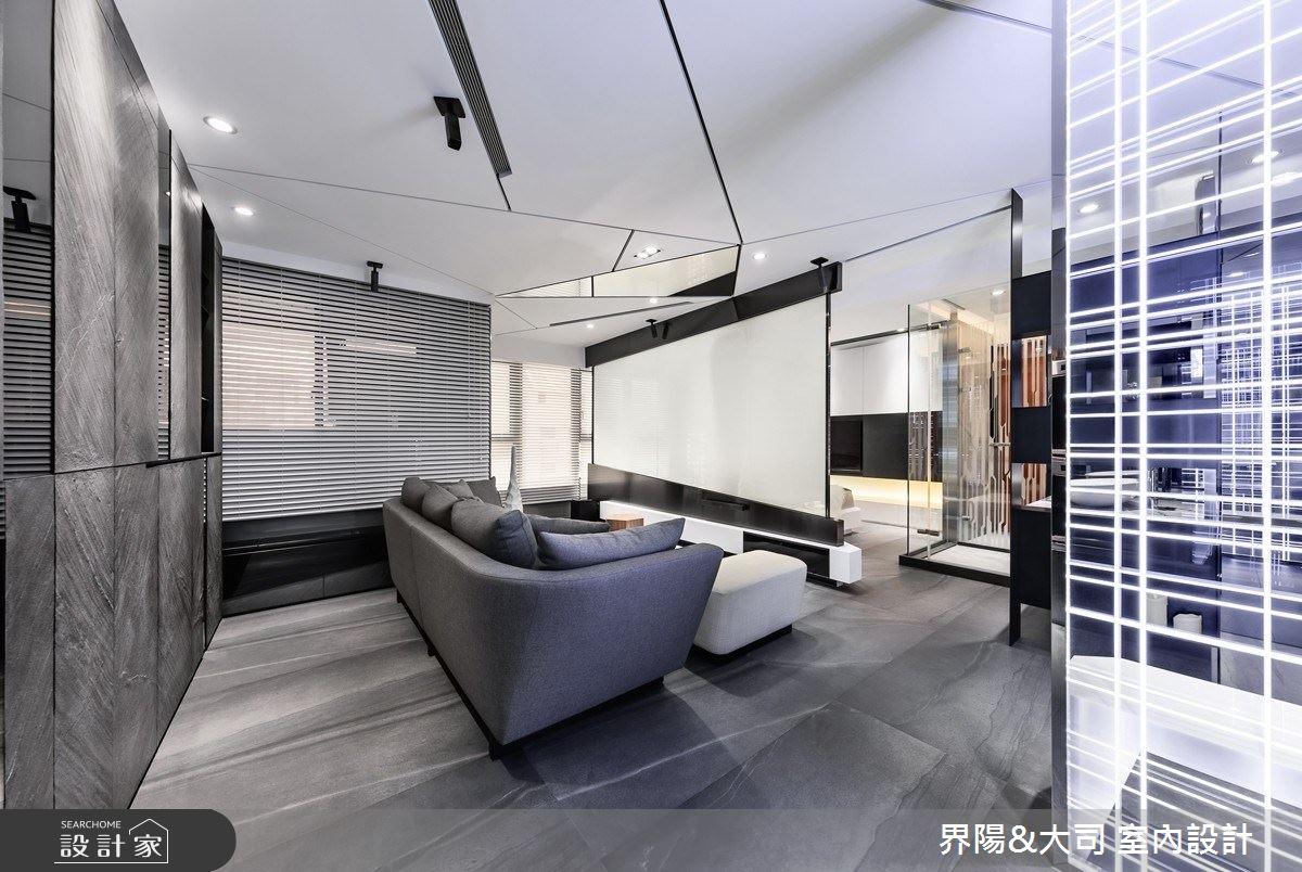 16坪新成屋(5年以下)_現代風客廳案例圖片_界陽&大司 室內設計_界陽_34之4