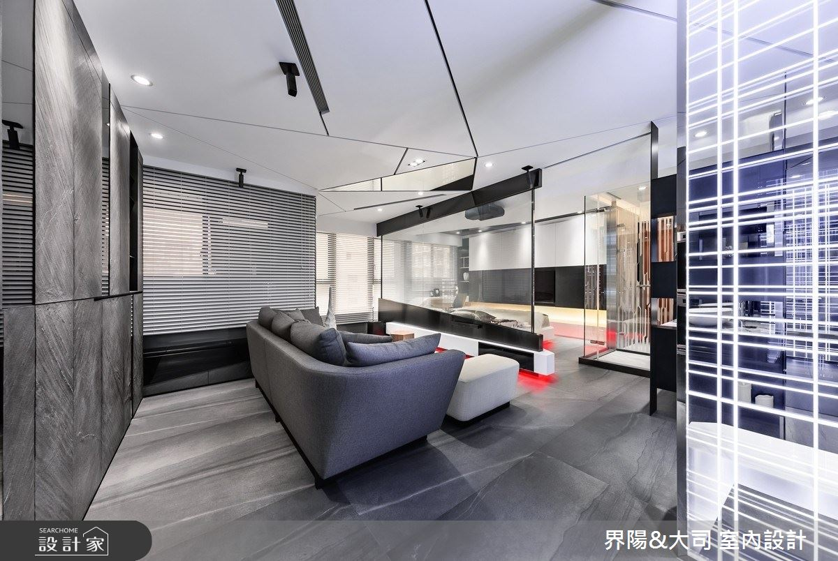 16坪新成屋(5年以下)_現代風客廳案例圖片_界陽&大司 室內設計_界陽_34之5