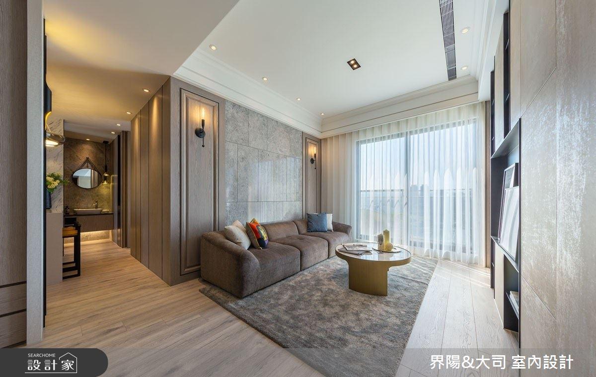 18坪預售屋_現代風客廳案例圖片_界陽&大司 室內設計_界陽_36之3