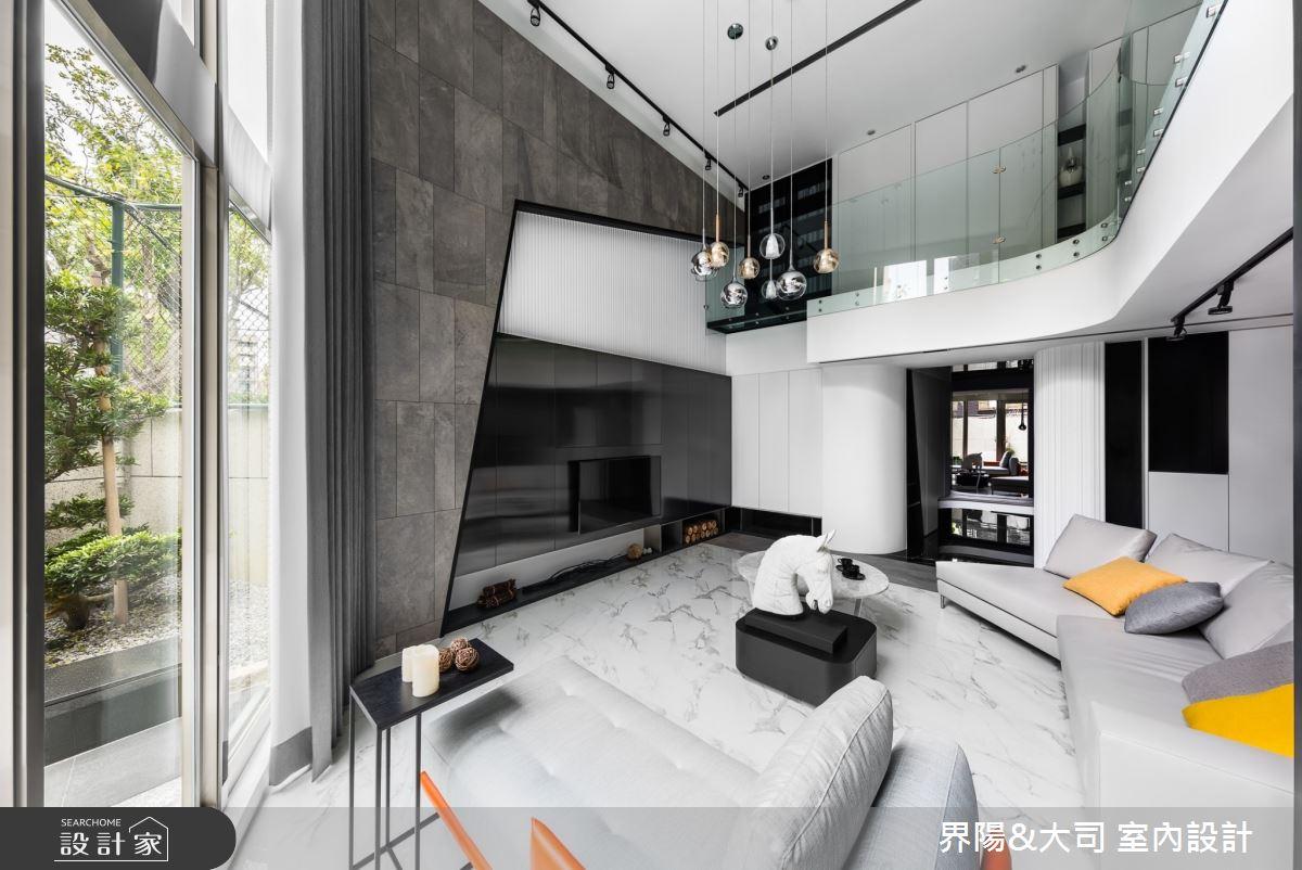 96坪老屋(16~30年)_現代風客廳案例圖片_界陽&大司 室內設計_界陽_37之3