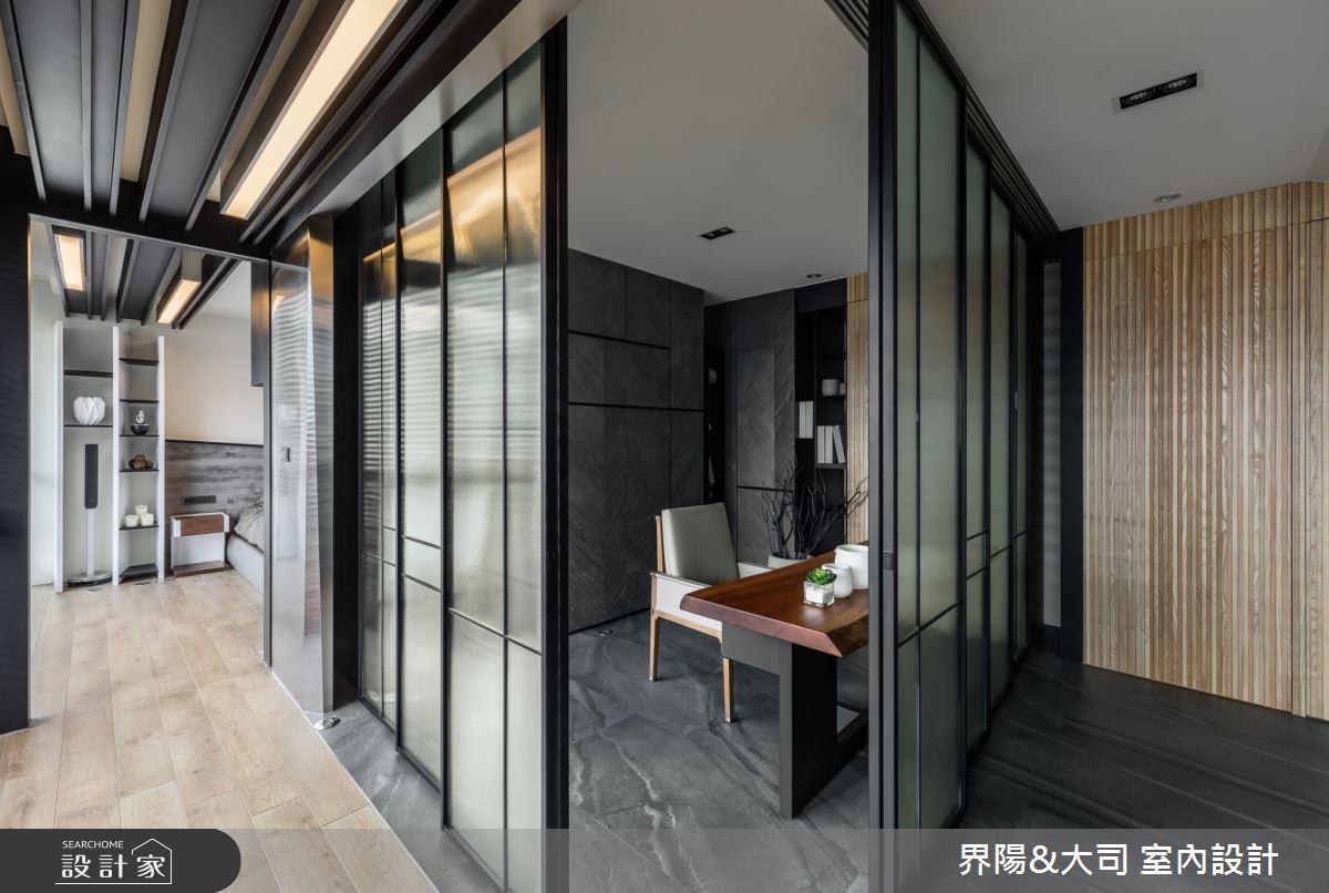 74坪新成屋(5年以下)_現代風書房案例圖片_界陽&大司 室內設計_界陽_40之3