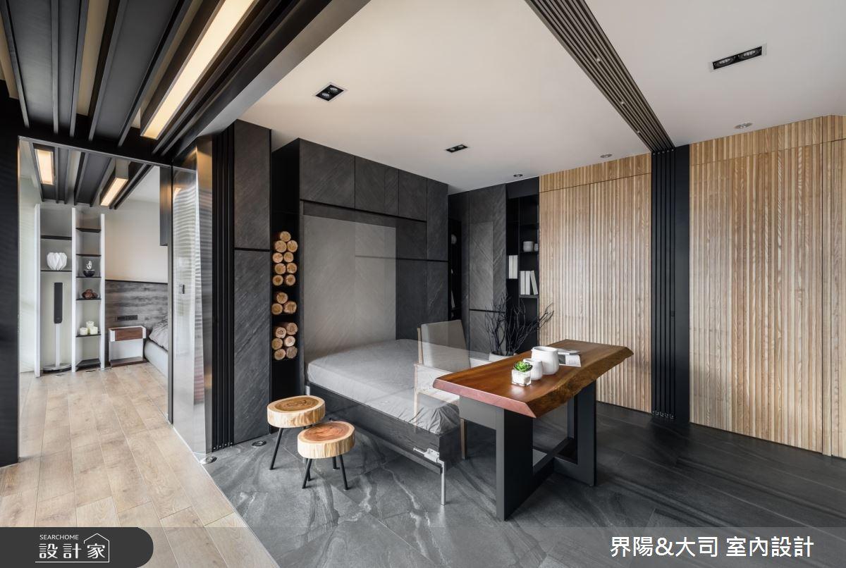 74坪新成屋(5年以下)_現代風書房案例圖片_界陽&大司 室內設計_界陽_40之4