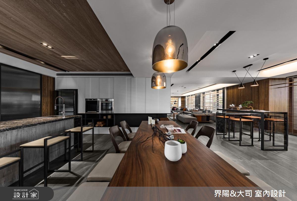 103坪新成屋(5年以下)_現代風餐廳案例圖片_界陽&大司 室內設計_界陽_42之3
