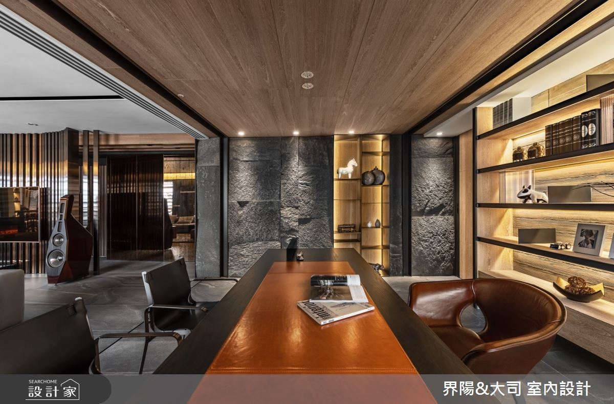 103坪新成屋(5年以下)_現代風書房案例圖片_界陽&大司 室內設計_界陽_42之4