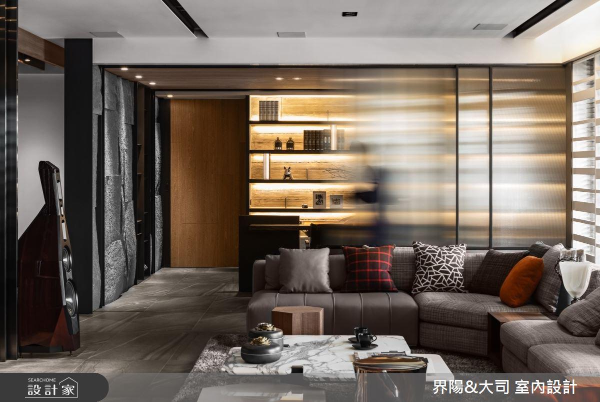 103坪新成屋(5年以下)_現代風客廳案例圖片_界陽&大司 室內設計_界陽_42之5
