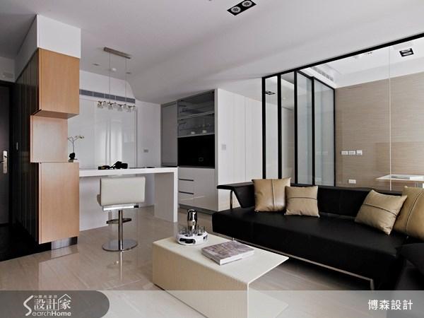 28坪新成屋(5年以下)_現代風案例圖片_博森設計工程_博森_11之5