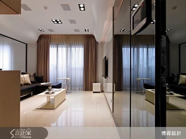 28坪新成屋(5年以下)_現代風案例圖片_博森設計工程_博森_11之2