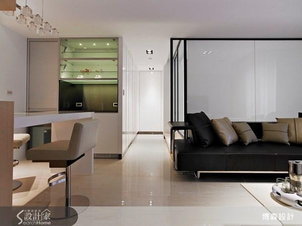 28坪新成屋(5年以下)_現代風案例圖片_博森設計工程_博森_11之12