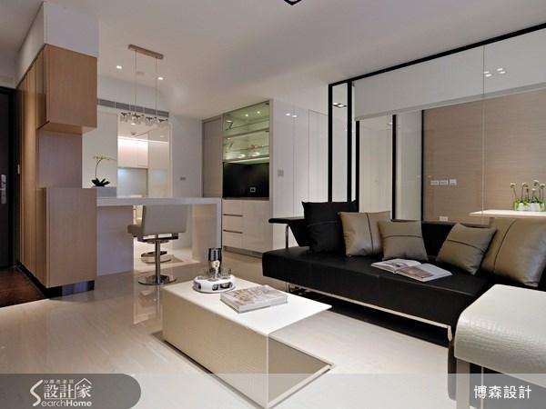 28坪新成屋(5年以下)_現代風案例圖片_博森設計工程_博森_11之4