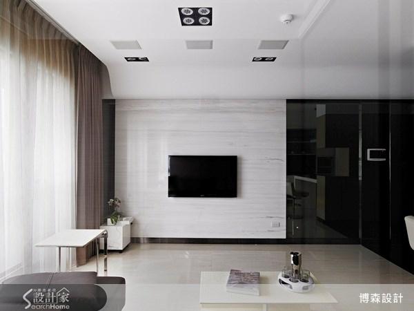 28坪新成屋(5年以下)_現代風案例圖片_博森設計工程_博森_11之8