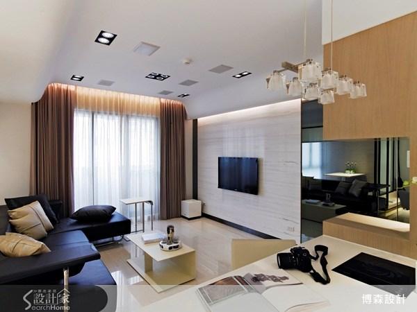 28坪新成屋(5年以下)_現代風案例圖片_博森設計工程_博森_11之7