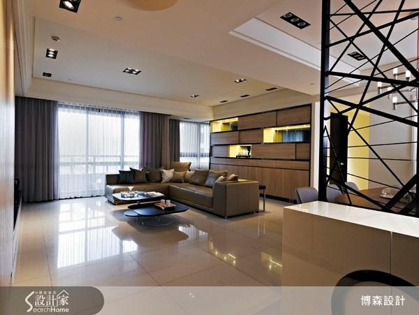 75坪新成屋(5年以下)_現代風案例圖片_博森設計工程_博森_16之1