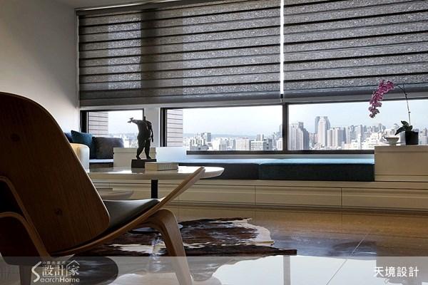74坪新成屋(5年以下)_新古典客廳案例圖片_天境空間設計_天境_12之4