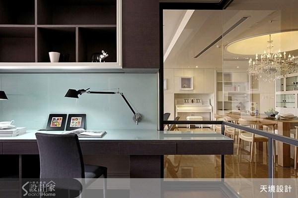 74坪新成屋(5年以下)_新古典書房案例圖片_天境空間設計_天境_12之17