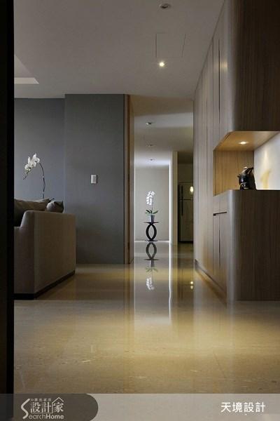 50坪新成屋(5年以下)_簡約風走廊案例圖片_天境空間設計_天境_18之4