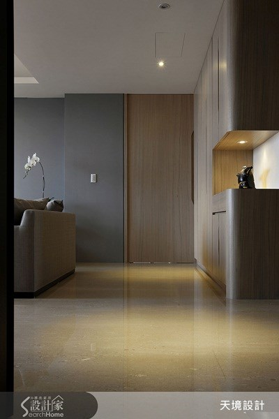50坪新成屋(5年以下)_簡約風走廊案例圖片_天境空間設計_天境_18之3