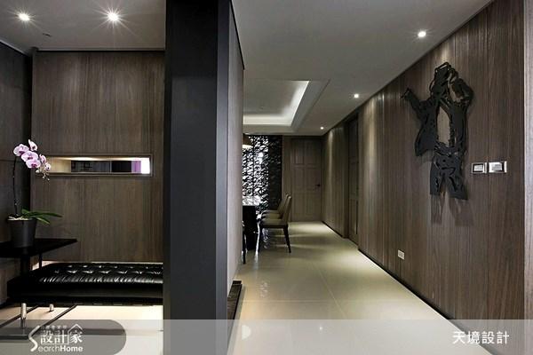 100坪新成屋(5年以下)_現代風走廊案例圖片_天境空間設計_天境_19之2