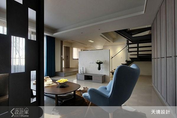 70坪預售屋_現代風客廳案例圖片_天境空間設計_天境_23之3