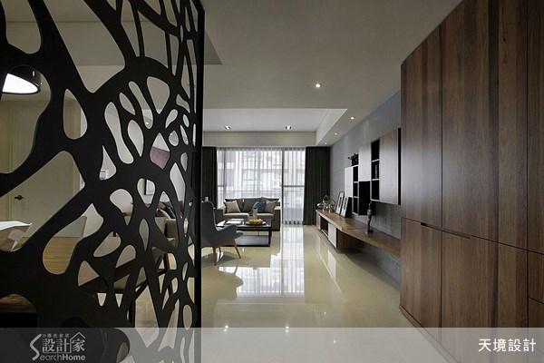 45坪新成屋(5年以下)_現代風走廊案例圖片_天境空間設計_天境_24之1