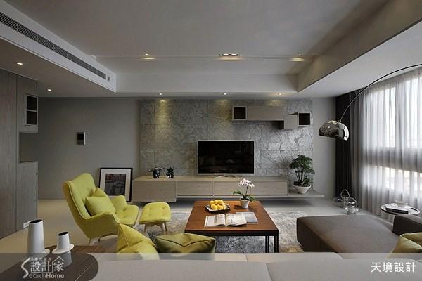35坪新成屋(5年以下)_現代風客廳案例圖片_天境空間設計_天境_25之5