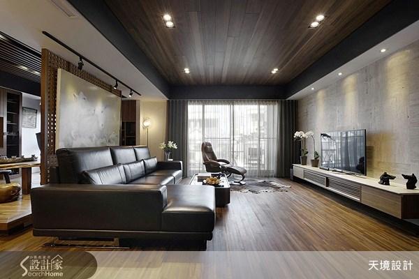 52坪新成屋(5年以下)_人文禪風客廳案例圖片_天境空間設計_天境_26之4